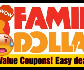 1/5 FAMILY DOLLAR IN-STORE COUPONING! EASY EASY!!!!