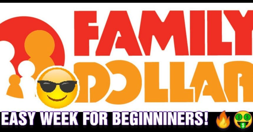 FAMILY DOLLAR COUPONING 1/12-1/18 EASY WEEK FOR BEGINNERS!