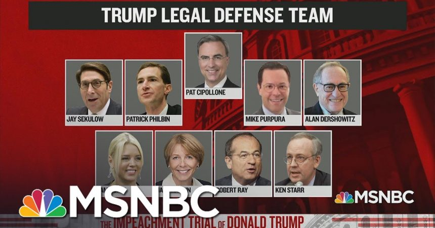 Meet The Trump Impeachment Defense Team | The Day That Was | MSNBC