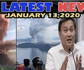 LATEST NEWS NGAYON JANUARY 13 2020 BULKANG TAAL UPDATE | SITWASYON SA BATANGAS | SEN TOLENTINO PRRD