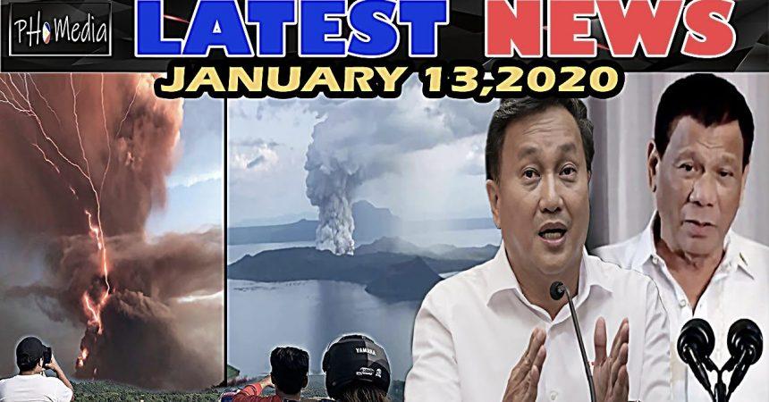 LATEST NEWS NGAYON JANUARY 13 2020 BULKANG TAAL UPDATE   SITWASYON SA BATANGAS   SEN TOLENTINO PRRD