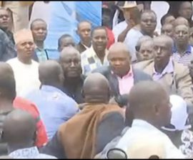 Moses Kuria causes drama in Kitui BBI meeting