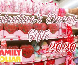 *New Valentine's Day 2020 Decor and Gifts 💕 Shop With Me Family Dollar