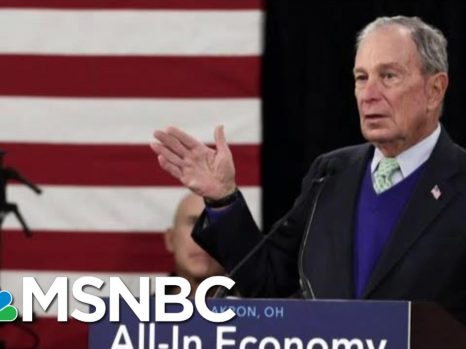 President Donald Trump Attacks Bloomberg Over Height And Bloomberg Hits Back   Morning Joe   MSNBC