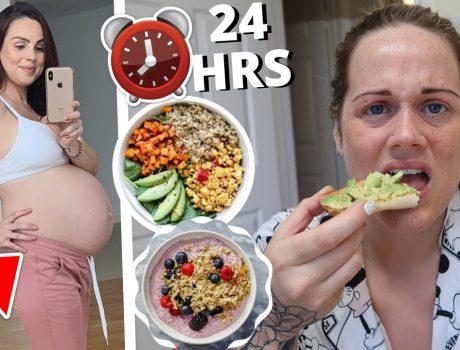 TRYING MY VEGAN SISTER'S PREGNANCY CRAVINGS for 24hrs!!! FT FAMILY FIZZ